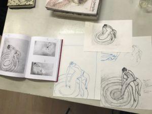 Leren van tekenkunstenaars